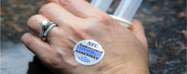 Announcing INFOSKIN® a Wearable NFC Tag